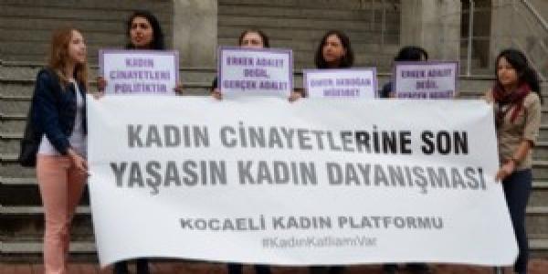 Kadın Cinayeti Protestosu