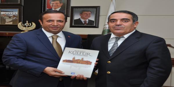 Aksoy'dan Başkan Toltar'a ziyaret