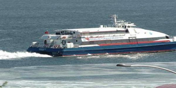 Deniz ulaşımda kış tarifesine geçiliyor