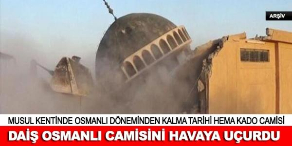Osmanlı camisini havaya uçurdular