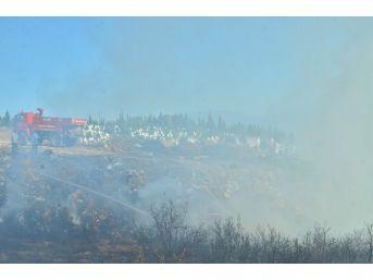 Dolgu Alanındaki Molozlarda Çıkan Yangın Korkuttu