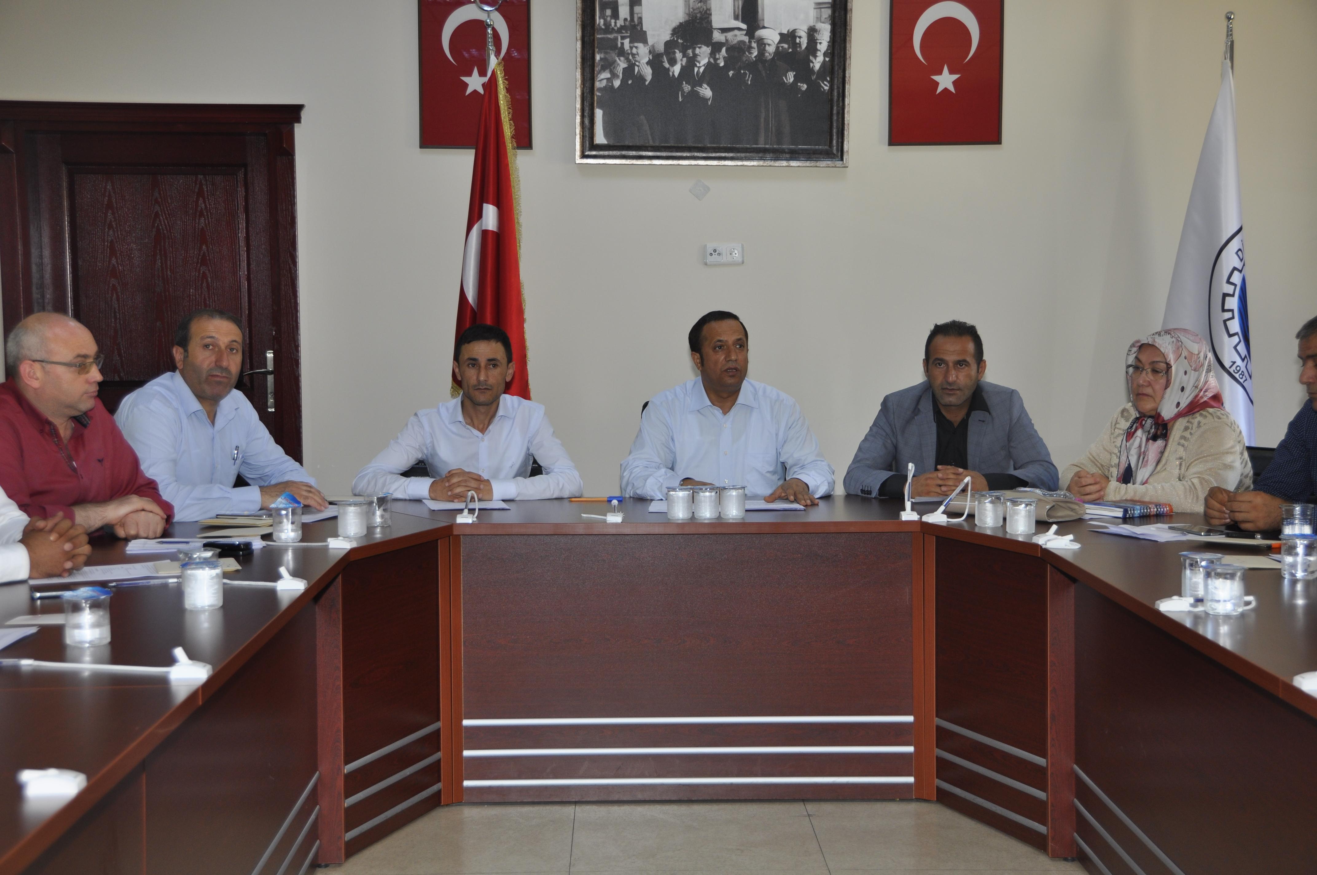 Başkan Toltar;  terörü kınadı, spordaki başarıyı ödüllendirdi