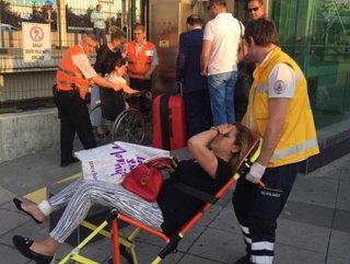 Bomba paniği: 2 yaralı