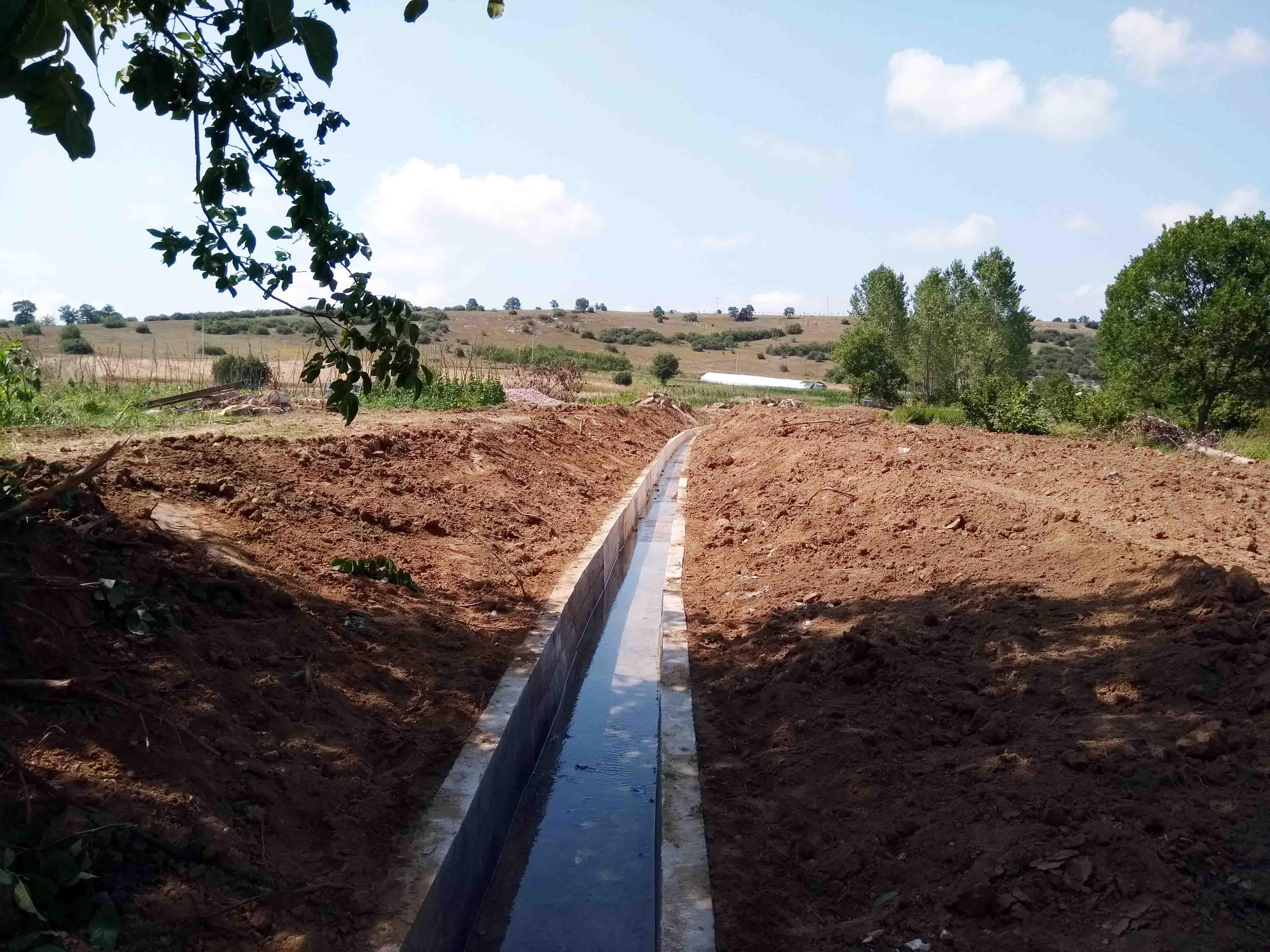 2 bin dönüm tarım arazisi suyla buluşuyor