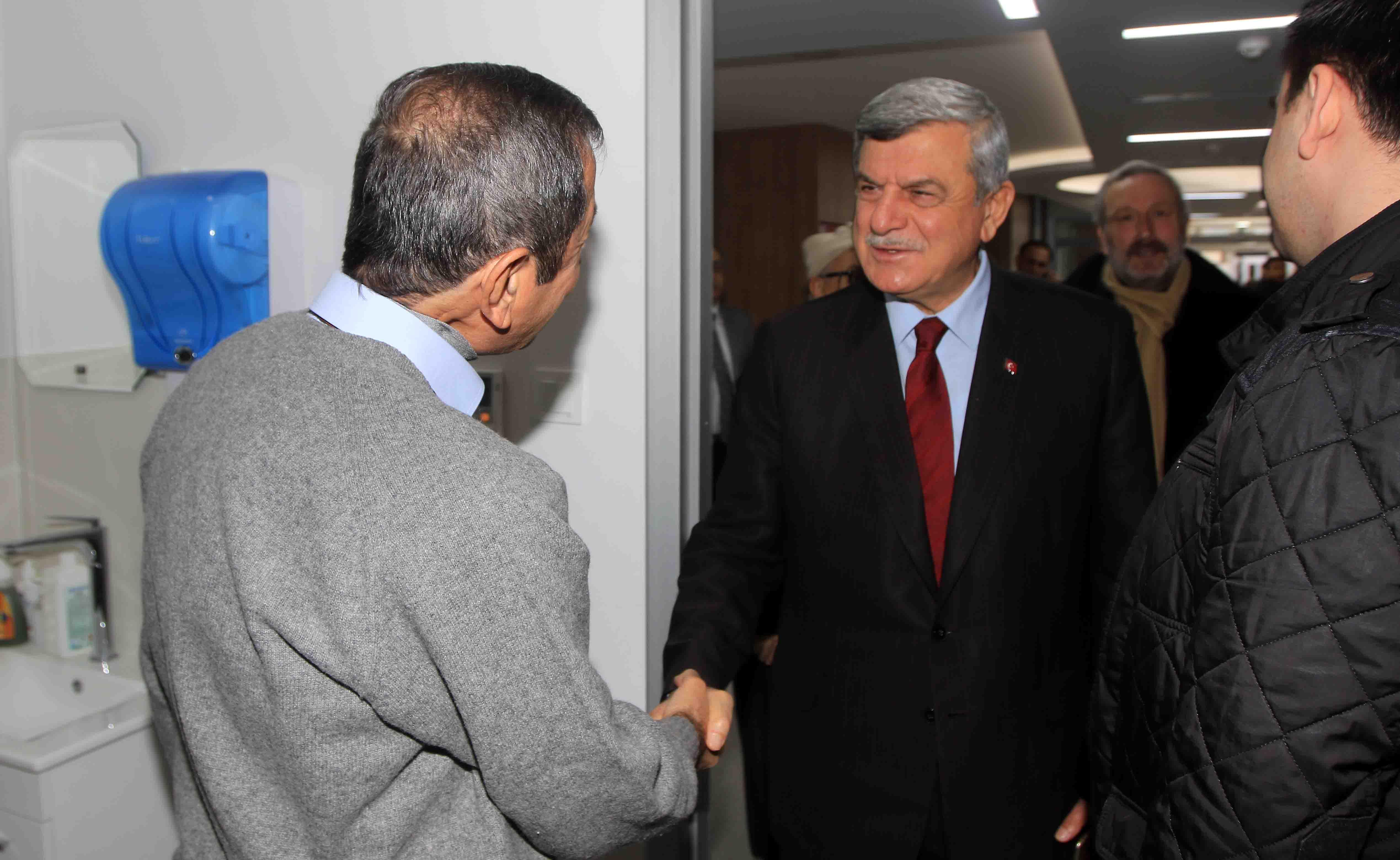 Başkan Karaosmanoğlu, ''Sağlık en önemli varlığımızdır''