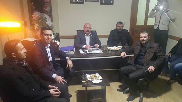 CHP'li Törk MHP'li Aygün'ü Ziyaret Etti