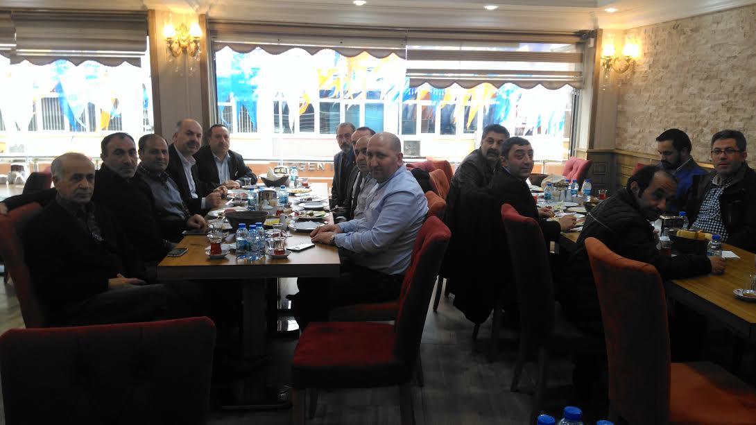 Erzurum'lular Derneği Kahvaltıda Buluştu