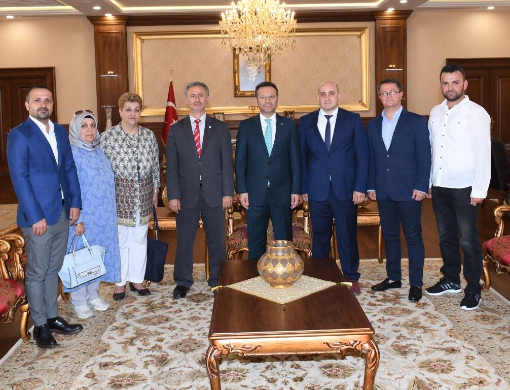 Vali Aksoy'a  hayırlı Olsun Ziyaretleri devam ediyor