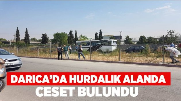 Darıca'da ceset bulundu