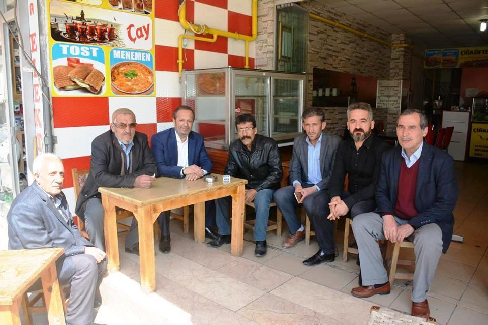 Başkan Toltar, esnaf ziyaretlerini sürdürüyor.