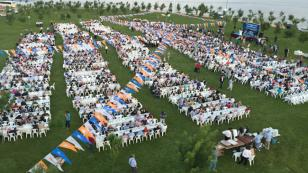 AK Parti'den 3 bin 500 kişilik dev iftar