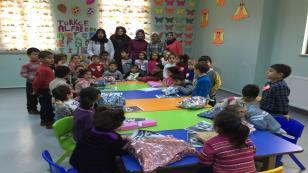 Yenimahalle Anne-Çocuk Kulübü Öğrencilerinden Anlamlı Ziyaret