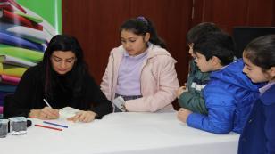 Çayırovalı Minik Okurlar Seçkin Çocuk Edebiyatı Yazarı Koray Avcı Çakman'la Buluştu