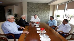Genel Sekreter Bayram'a ziyaretler sürüyor