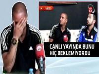 Carlos canlı yayında adeta şok oldu!