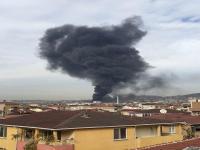 Gebze'de fabrika yanıyor
