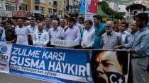 Doğu Türkistan için ilk tepki AGD'den