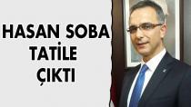 Başkan Soba tatile çıktı