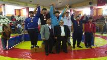 Güreşçiler, Sivas'ta İki Türkiye Üçüncülüğü Kazandı