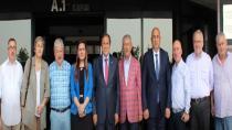 CHP'lilerden Sirmen'e destek ziyareti