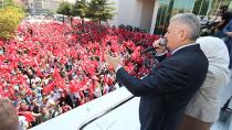 Başbakan Yıldırım: Tank çıkan yerler kapatılacak