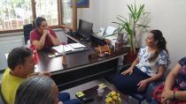 Milletvekili Hürriyet, Gebze kütüphanesini ziyaret etti