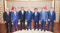 Çalışma Ve Sosyal Güvenlik Bakanı'ndan Vali'ye Ziyaret