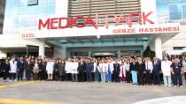 Medical Park Gebze Hastanesi Ulu Önder Gazi Mustafa Kemal Atatürk'ü andı