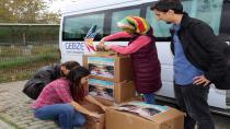 GTÜ öğrencileri, Muş'ta kütüphanesi olmayan bir okula kitap gönderdi