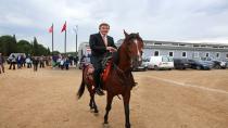 At Binicilik Tesisi ve Cirit Alanı Açılıyor
