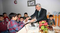 Başkan Karaosmanoğlu, ''Sevgi evleri devletimizin şefkatli yuvalarıdır''