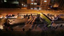 Kocaeli'de Yolcu otobüsü devrildi: 10 yaralı