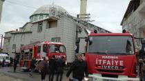 Gebze'de Namaz çıkışında cami yandı
