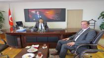 Başkan Toltar'dan yeni kaymakama ziyaret