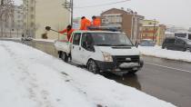 Çayırova Belediyesi Karla Mücadele Ekipleri 7/24 Çalışıyor
