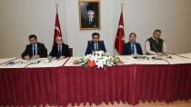 Güzeloğlu  Başkanlığında, Güvenlik Ve Asayiş Değerlendirme Toplantısı Yapıldı