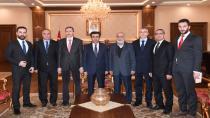 Güzeloğlu, Gebze MÜSİAD Üyelerini Makamında Kabul Etti