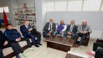 Başkan Köşker Gebzespor'a moral oldu