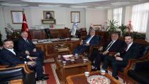Başkan Karaosmanoğlu, Ankara'da temaslarda bulundu