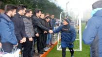 Akademi Lise öğrencileri Başakşehir Spor Kulübü'nü ziyaret etti