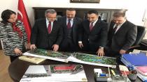 Başkan Köşker projeler için Silvan'da