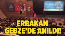 Erbakan, Gebze'de anıldı