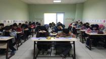 Bilgievlerinde sınav heyecanı yaşandı
