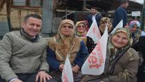 Milletvekili Şeker ve Korkmaz'dan köy ziyaretleri