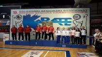 Darıcalı Karateciler Balkan Şampiyonu