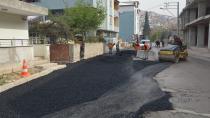 Yaz geldi asfalt çalışmaları hız kazandı