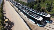Akçaray tramvay araçlarının altıncısı da teslim edildi