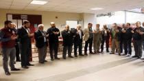 Büyükşehir Belediyesi Hal binasında gerçekleştirilen programda bereket duası yapıldı
