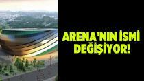 Kocaeli Arena'nın ismi değişiyor