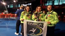 Darıca'lı Karateciler Avrupa'dan Madalyayla Döndü